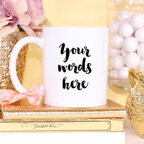 Wall and Wonder Mugs Custom Coffee Mug - Personalized for you!