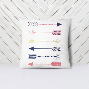 Wall and Wonder Pillow Arrows Throw Pillow Cover - Woodlands Nursery