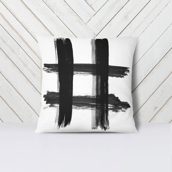 Wall and Wonder Pillow Hashtag Throw Pillow Cover
