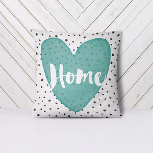 Wall and Wonder Pillow Home Heart Throw Pillow