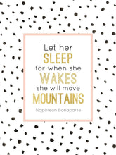 Load image into Gallery viewer, Wall and Wonder Wall Prints Custom Mountain Wall Prints - Let her Sleep/Move Mountains