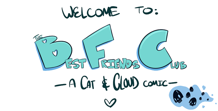 Welcome to the Best Friends Club a Cat and Cloud Comic