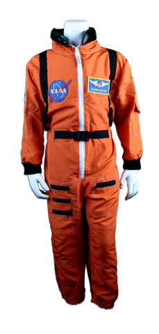 "Orange ""ACES"" Adult Astronaut Jumpsuit"