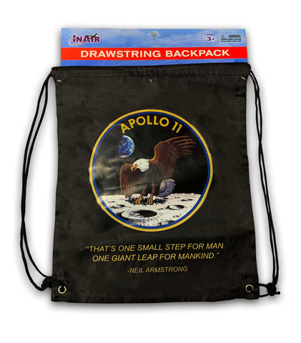 Apollo 11 Draw String Backpack