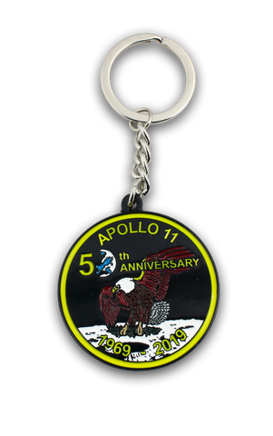 Apollo 50th Anniversary Keyring