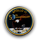 Apollo 11 50th Anniversary Commemorative Magnet