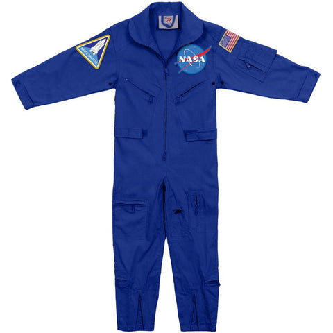Blue Youth Flight Suit
