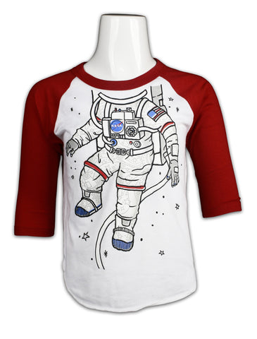 Astro. EVA 3/4 Sleeve Shirt