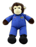 NASA Blue Flight Suit Plush Monkey