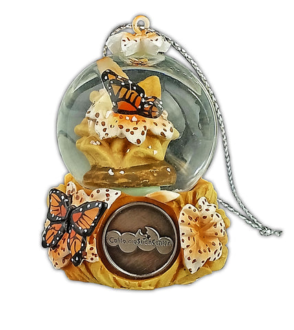 Butterfly Snowglobe Ornament