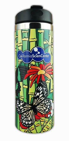 Butterfly on Bamboo Tumbler
