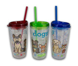 Dogs A Science Tail Tumbler