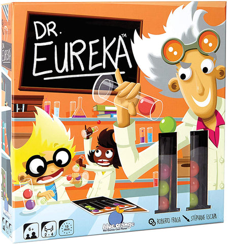 Dr. Eureka Mix the Molecules, Master the Formula! Game