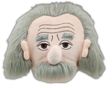 Albert Einstein Head Pillow