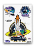 "Endeavour ""A"" set of 3 Stickers"