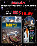 NASA DVD & Space Shuttle Endeavour Commemorative Guide Combo