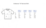 "Endeavour ""A"" Burnout Ladies Fitted Shirt *EXCLUSIVE*"