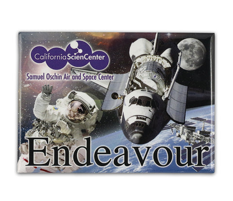 Endeavour Space Walk Magnet