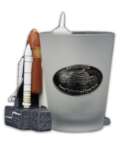 Endeavour Shuttle-Launch Collectible Shot Glass