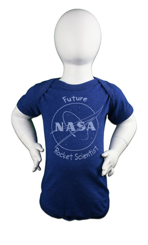 Future Rocket Scientist NASA Onesie