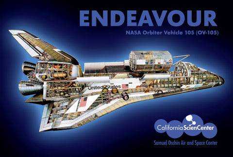 "Endeavour ""Tech"" Postcard"