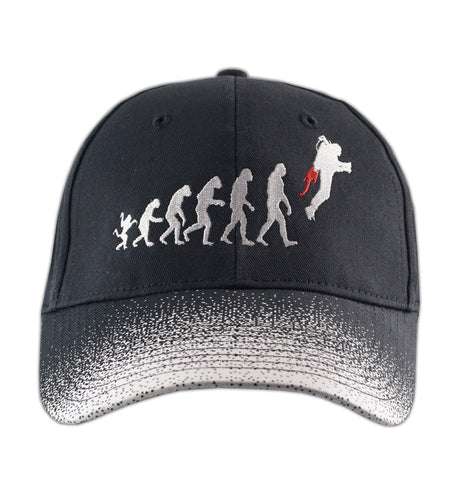 Evolution Hat (Black W/Grey Speckles)