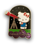 Hello Kitty Astronomer Pin