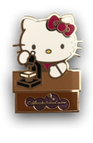 Hello Kitty Biologist Pin