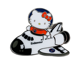 Hello Kitty Endeavour Pilot Collectible Magnet *EXCLUSIVE*