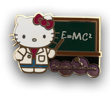 Hello Kitty Physicist Pin
