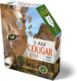I Am Cougar 300 Piece Puzzle