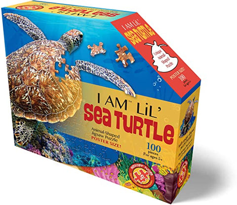 I Am Lil Sea Turtle 100 Piece Puzzle