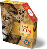 I Am Lion Head Shaped Puzzle 550 Pieces