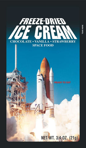 Freeze Dried Space Food