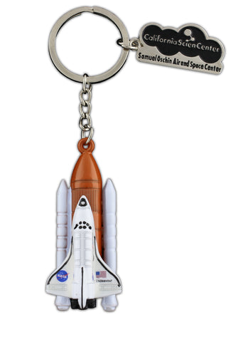 Endeavour Full Stack 3D Keyring
