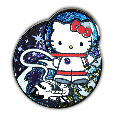 "Hello Kitty ""Endeavour Space Walk"" Collectible Pin *EXCLUSIVE*"
