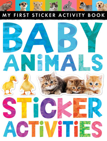 "My First Sticker Activity Book ""Baby Animals"""