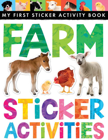 "My First Sticker Activity Book ""Farm"""