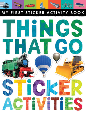 "My First Sicker Activity Book ""Things That Go"""