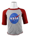 NASA 3/4 Sleeve Shirt Youth