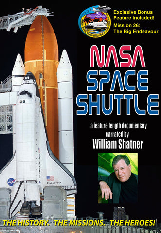 NASA Space Shuttle DVD (V-4) *EXCLUSIVE M26 FOOTAGE*