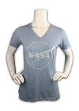 NASA Pearl V-Neck Ladies Shirt