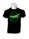 NASA Star Field Glow in the Dark Adult T-Shirt