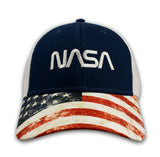 NASA Worm Flag Hat