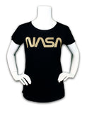 NASA Worm Scoop Neck Tee