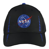 NASA Black/Royal Hat