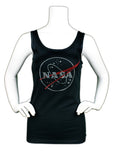 NASA Rhinestone Tank Top