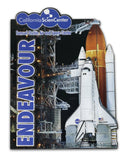 Endeavour Launch 2D Magnet