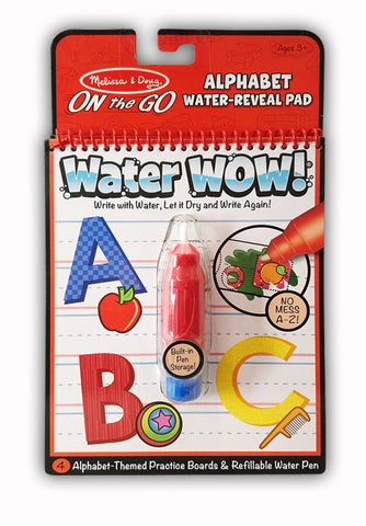 Alphabet Water Reveal Pad