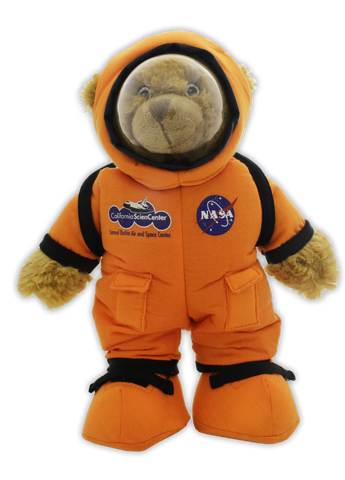 NASA (ACES) Orange Suit Bear